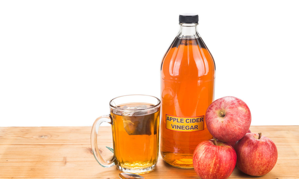 Apple Cider Vinegar Rinse Treatment for Naturally Shiny Hair