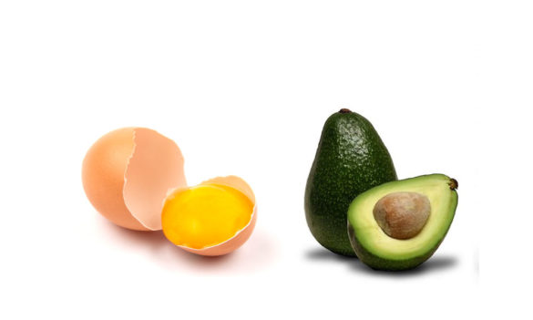 Avocado and Egg Hair Mask for Dry Damaged Hair