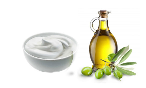 Olive Oil and Yogurt Hair Conditioner