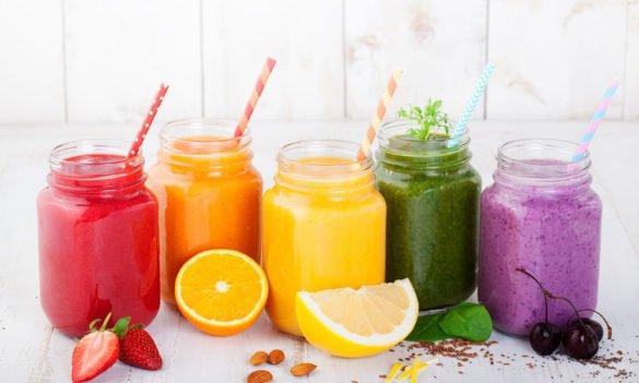 Smoothies juices beverages